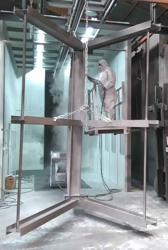 Traitement anticorrosion grande longueur laquage de palier
