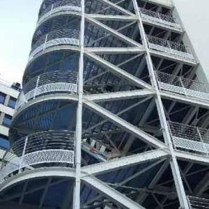 réalisation de cage d'escalier